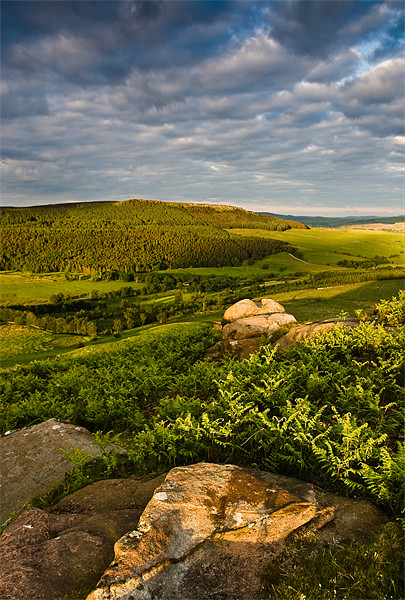 Crookrise From Rough Haw, Yorkshire Dales, United  Canvas print by Jim Round