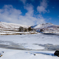 Buy canvas prints of Winter at Embsay by Jim Round