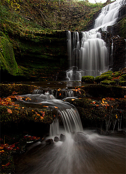Scalber Force, Yorkshire Dales Canvas print by Jim Round