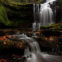 Buy canvas prints of Scalber Force, Yorkshire Dales by Jim Round