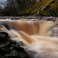 Buy canvas prints of Stainforth Force, Yorkshire Dales by Jim Round