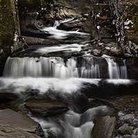 Buy canvas prints of Bracklinn Falls by Jim Round