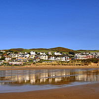 Buy canvas prints of Beach View in South West by Philip Gough