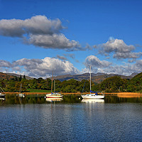Buy canvas prints of Boats on the Lake by Philip Gough