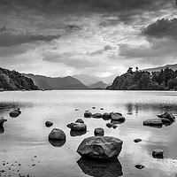 Buy canvas prints of Derwent Water in the Lake District by George Cairns