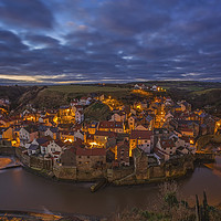 Buy canvas prints of A Morning at Staithes. by John Carson