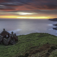 Buy canvas prints of Smugglers Bothy by John Carson