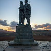 Buy canvas prints of Commando Memorial by Stephen Smith Galleries