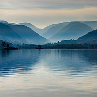 Buy canvas prints of Misty Ullswater by Stephen Smith Galleries