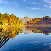 Buy canvas prints of Blea Tarn by Stephen Smith Galleries