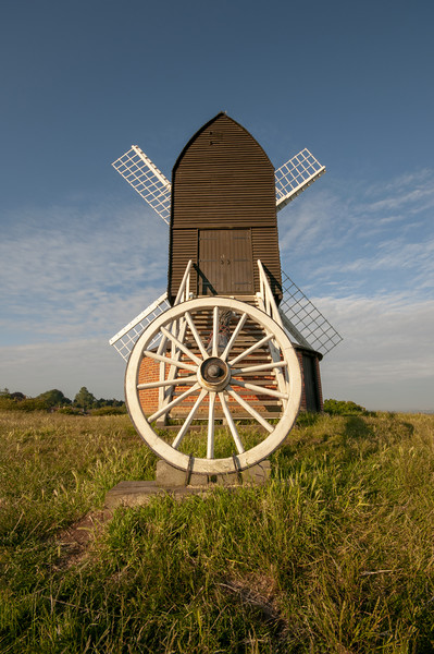 Brill Windmill Canvas print by Stephen Smith Galleries