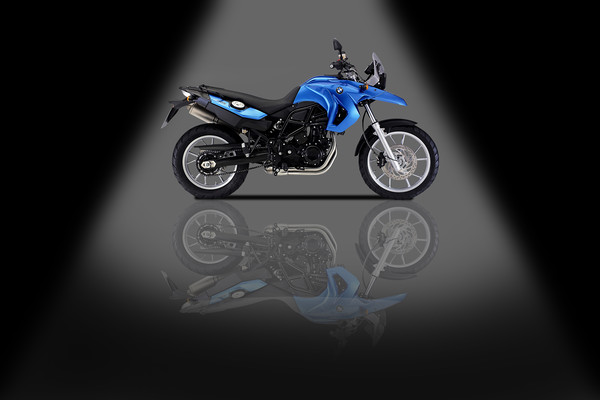 BMW F 650 Canvas print by Stephen Smith Galleries