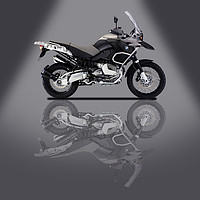Buy canvas prints of BMW R1200R Grey Spotlight by Stephen Smith Galleries