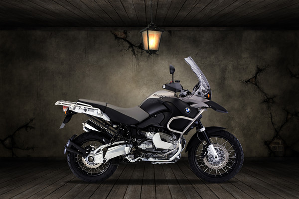 BMW R1200R Old Room Canvas print by Stephen Smith Galleries