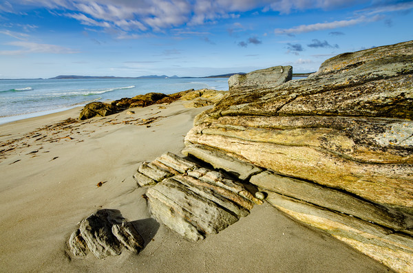 Berneray Canvas print by Stephen Smith Galleries