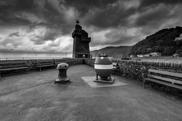 Lynmouth Canvas Print by Stephen Smith Galleries