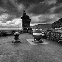 Buy canvas prints of Lynmouth by Stephen Smith Galleries