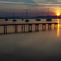 Buy canvas prints of Ammersee Sunrise by Stephen Smith Galleries