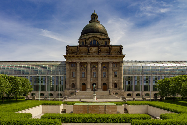 Bavarian State Chancellery, Berlin Canvas print by Stephen Smith Galleries