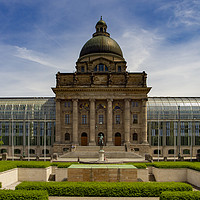 Buy canvas prints of Bavarian State Chancellery, Berlin by Stephen Smith Galleries