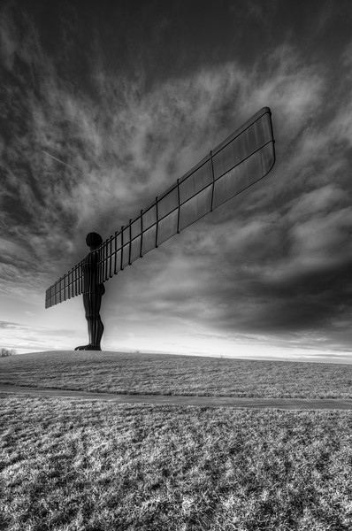 Angel Of The North Framed Mounted Print by Stephen Smith Galleries
