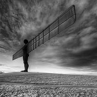 Buy canvas prints of Angel Of The North by Stephen Smith Galleries
