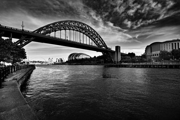 Tyne Bridge Canvas Print by Stephen Smith Galleries