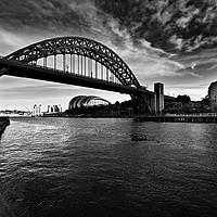 Buy canvas prints of Tyne Bridge by Stephen Smith Galleries
