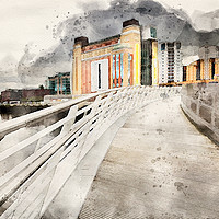 Buy canvas prints of The Baltic Flour Mill by Stephen Smith Galleries