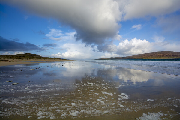 Luskentyre Canvas Print by Stephen Smith
