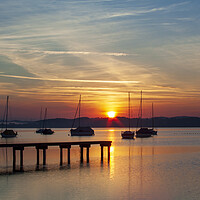 Buy canvas prints of Ammersee, Germany by Stephen Smith
