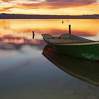 Buy canvas prints of Ammersee Dawn by Stephen Smith