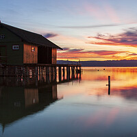 Buy canvas prints of Ammersee, Bavaria, Germany by Stephen Smith