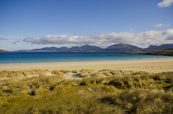 Luskentyre Framed Print by Stephen Smith