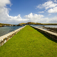 Buy canvas prints of Rodel Isle Of Harris by Stephen Smith
