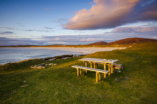 Clachan Sands North Uist Canvas Print by Stephen Smith