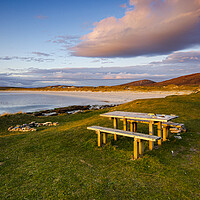 Buy canvas prints of Clachan Sands North Uist by Stephen Smith