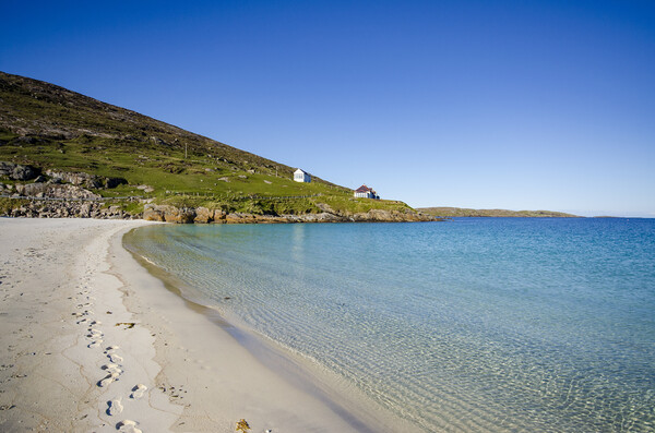 Vatersay Outer Hebrides Canvas Print by Stephen Smith