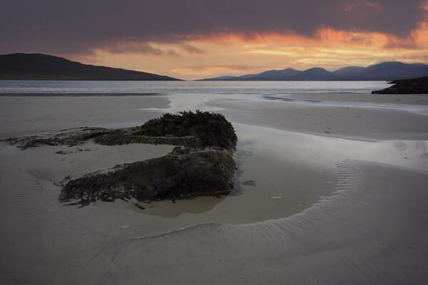 Luskentyre Beach, Isle of Harris Framed Print by Stephen Smith