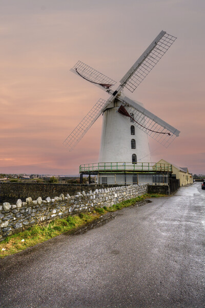 Blennerville Windmill Framed Print by Stephen Smith