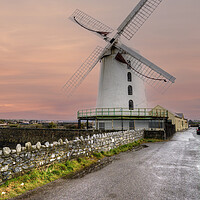 Buy canvas prints of Blennerville Windmill by Stephen Smith