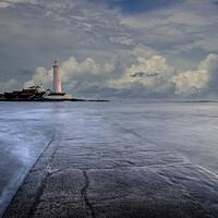 Buy canvas prints of St Marys Lighthouse by Stephen Smith