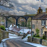 Buy canvas prints of Ingleton North Yorkshire by Stephen Smith