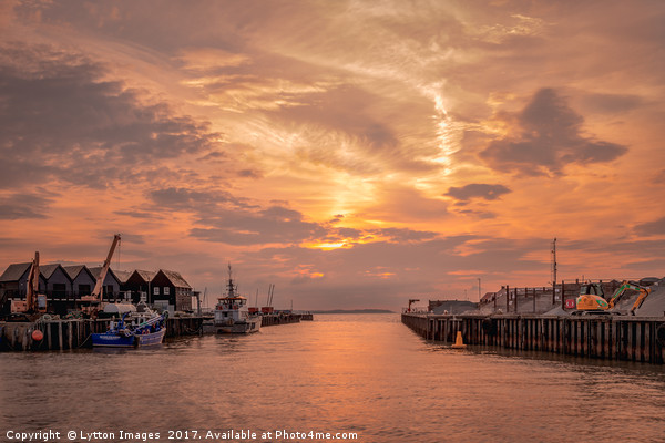 Whitstable Harbour Canvas print by Lytton Images
