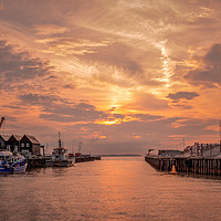 Buy canvas prints of Whitstable Harbour by Lytton Images
