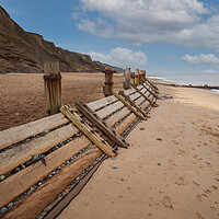 Buy canvas prints of Overstrand Beach by kevin snelling