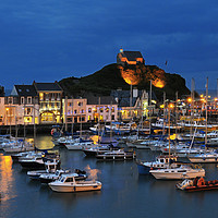 Buy canvas prints of Ilfracombe by night by Chris Harris