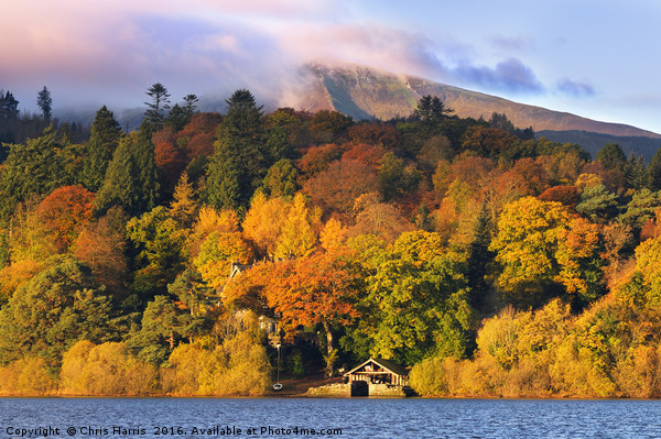 Autumn in the Lakes Canvas print by Chris Harris