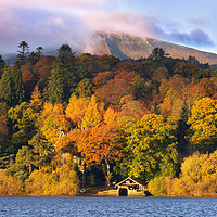 Buy canvas prints of Autumn in the Lakes by Chris Harris