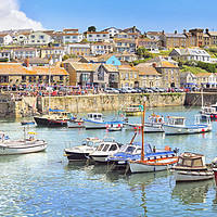 Buy canvas prints of Porthleven summer by Chris Harris